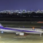 Night view from the observation deck of Sendai Airport | Miyagi Japan Tourist Information