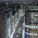 Beautiful night view from the JR Hakata Station Building Observation Terrace | Fukuoka Japan Sightseeing Information