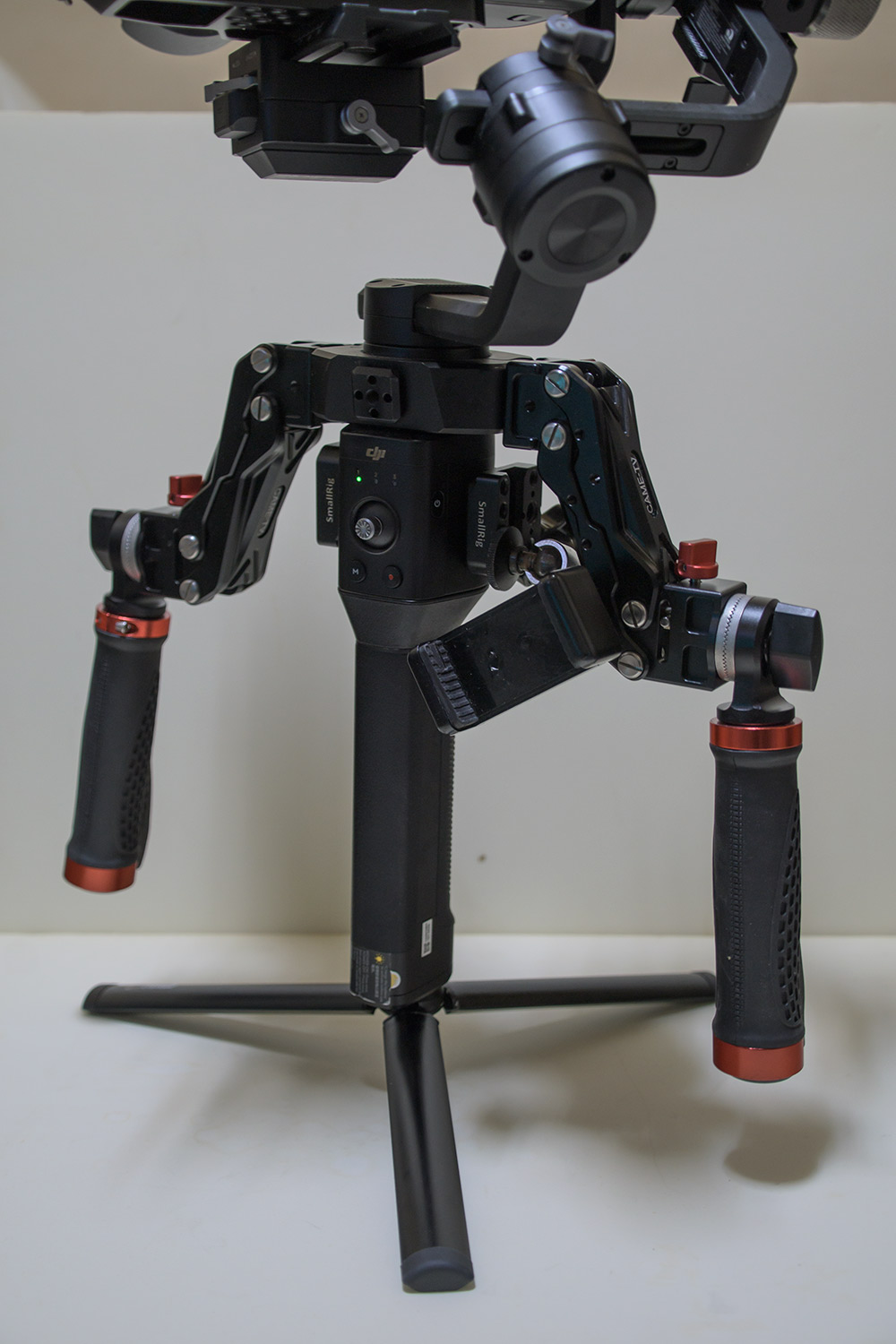 CAME-TV Dual Adjustable Spring Handles for DJI RONIN S/RSC2/RS2 × 1